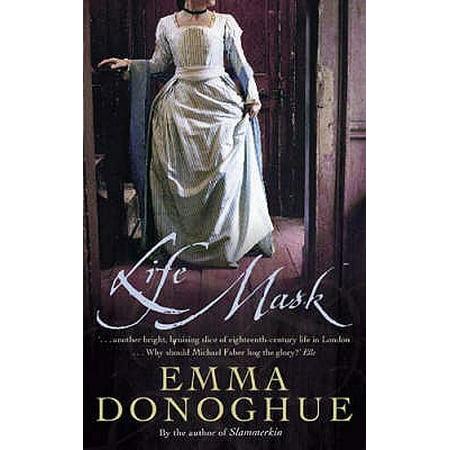 Life Mask. Emma Donoghue (Grinch Mask Uk)