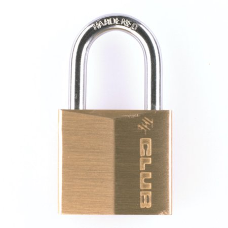 The Club 30mm Brass Padlock