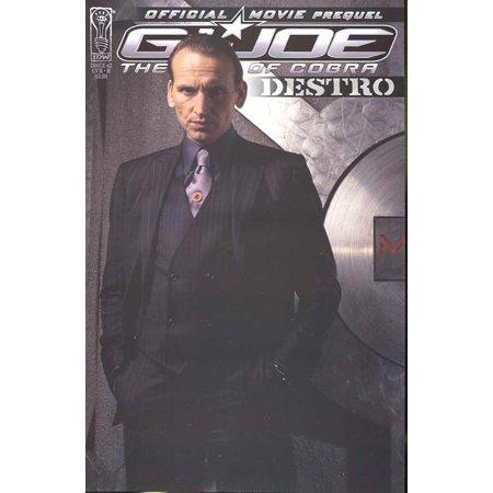 Joe 2 Cover (G.I. Joe Official Movie Prequel Issue #2: Destro (Cover B) Comic Book By G I)