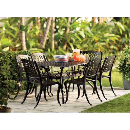 Sol 72 Outdoor Bayview 7 Piece Dining Set