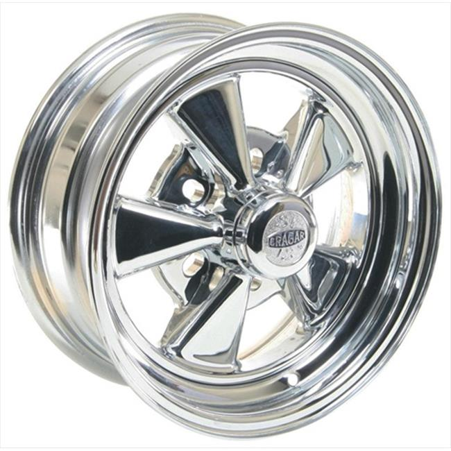 Cragar 61614 Super Sport Chrome Wheels 14 x 6 In.