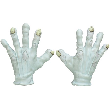 Adult Evil Clown Hands Costume Accessory](Evil Clown Halloween Prop)