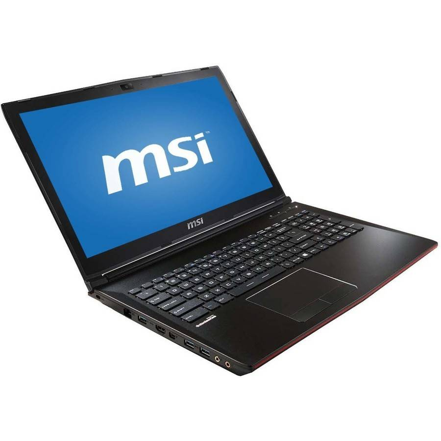 "MSI GP62 Leopard Pro-1276 15.6"" Laptop, Windows 10 Home, Intel Core i7-6700HQ Quad-Core Processor, 16GB RAM, 128GB Solid State Drive"