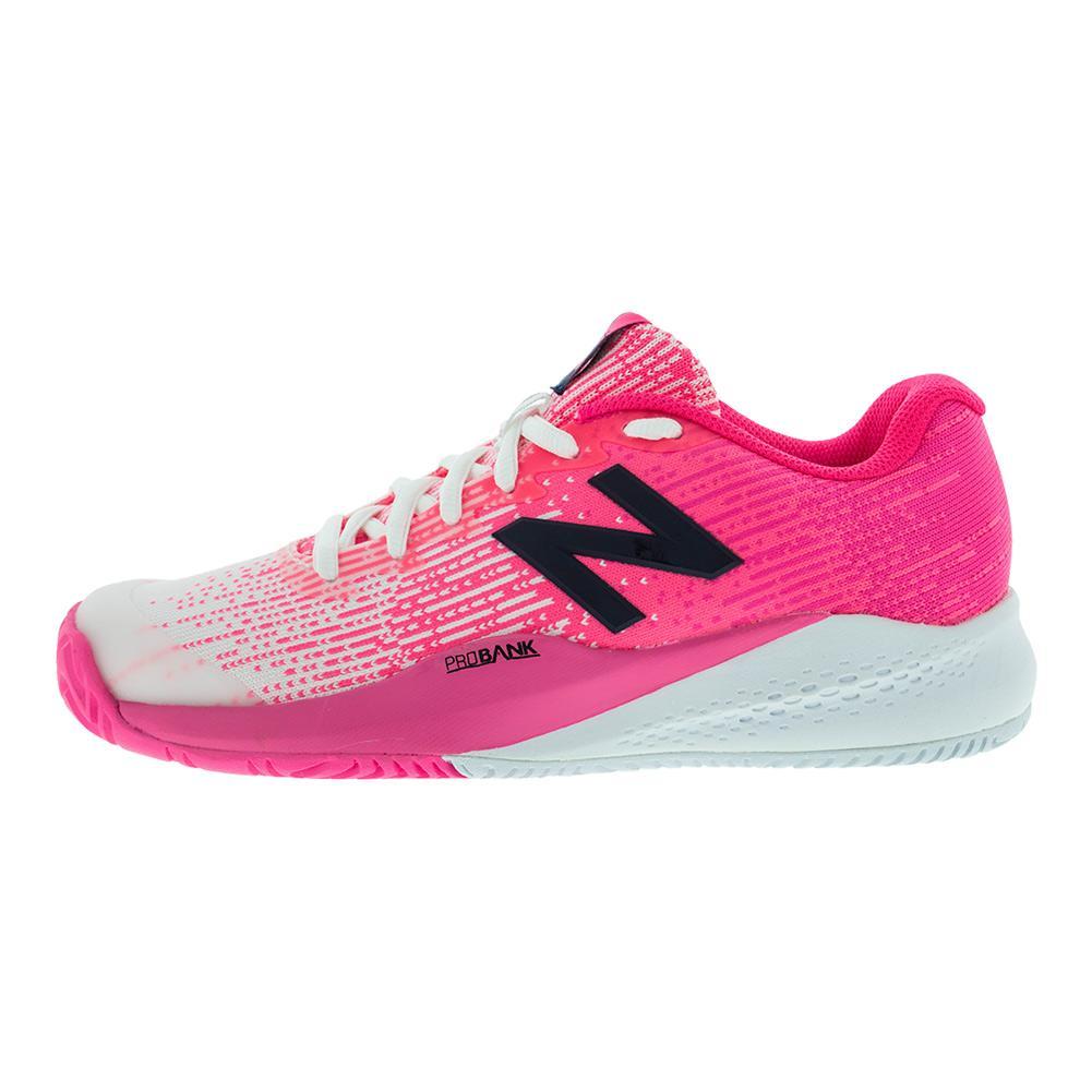 new balance women's 996v3 tennis-shoes,white/black8 b us