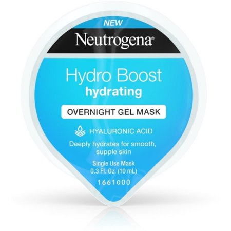 Overnight Moisturizing (3 Pack - Neutrogena Hydro Boost Moisturizing Overnight Face Mask, 0.3 oz )