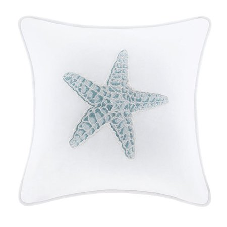 Harbor House Coupons (Harbor House Maya Bay Square Pillow, 16 by 16-Inch, White )