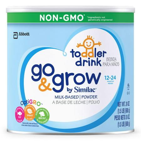 Similac Go   Grow Non Gmo Toddler Drink  Powder  1 5 Lb