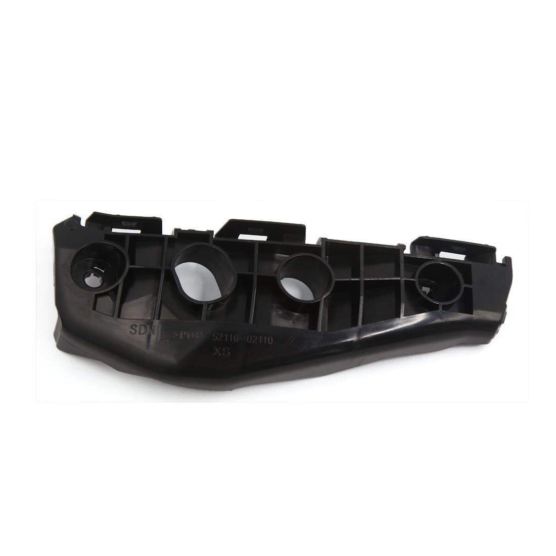 Left Front Bumper Bracket Support Replacement Black 52116-02110 for Carola
