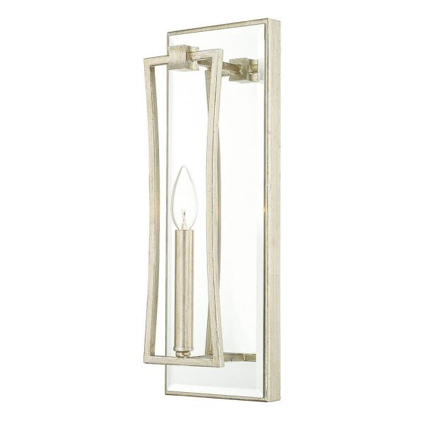 Capital Lighting Westbrook - One Light Wall Sconce, Winter Gold Finish