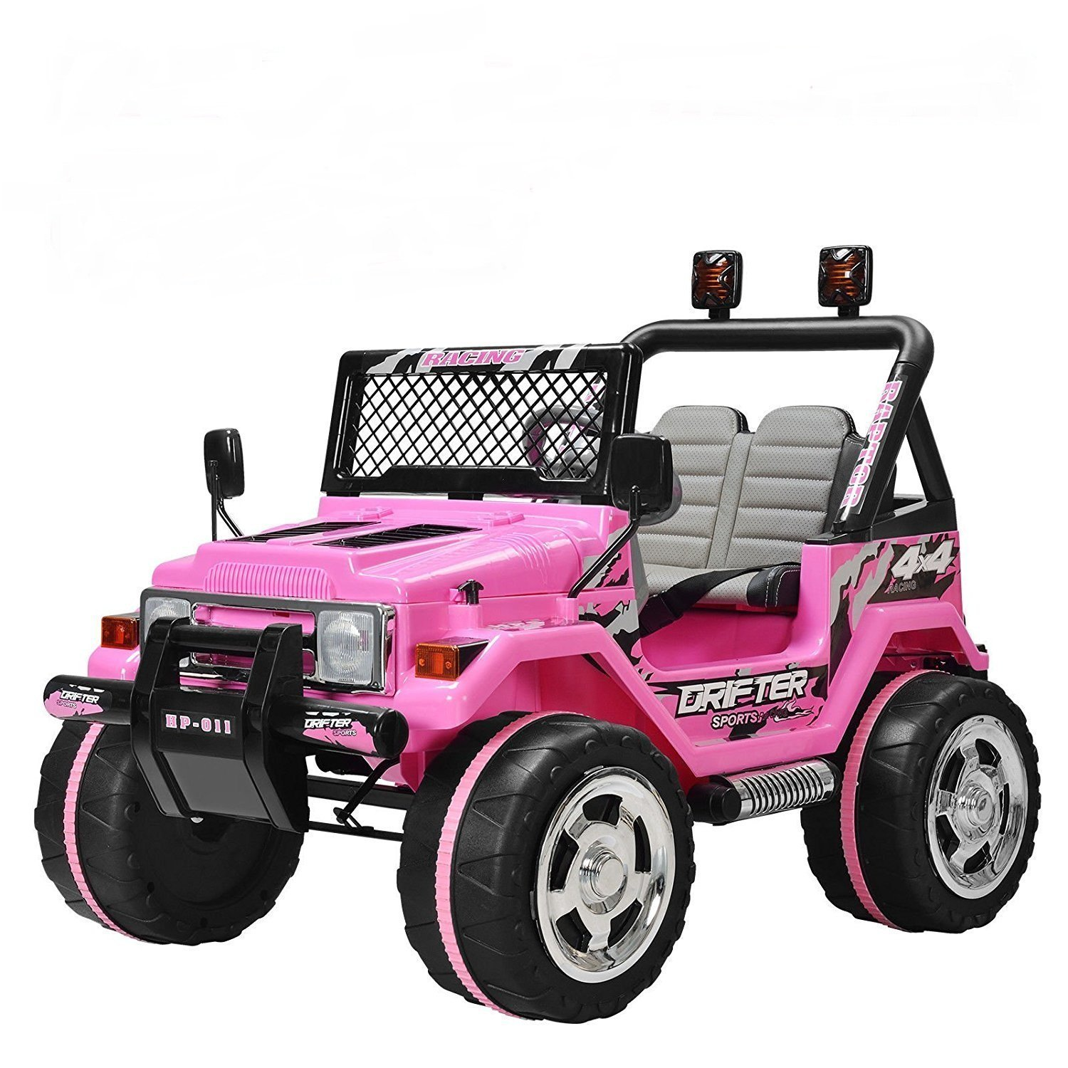 Uenjoy Kid's Ride on Car Ride on Truck Power Wheels 12V 2 Speeds with Remote Control ... by Uenjoy