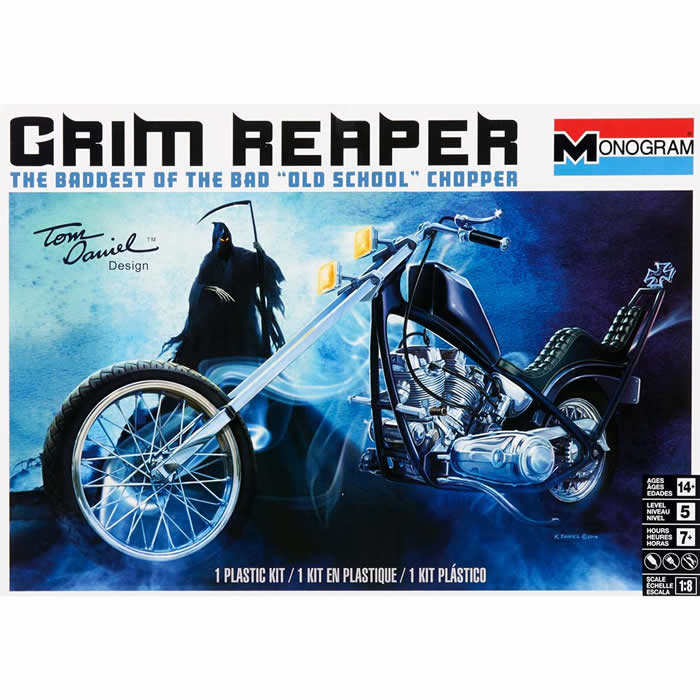 Revell Tom Daniel Grim Reaper Motorcycle Model Kit by Revell