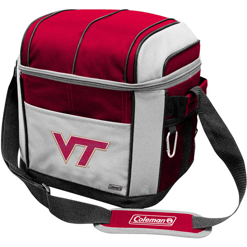 "Coleman 11"" x 9"" x 13"" 24-Can Cooler, Virginia Tech Hokies"