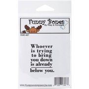 Riley & Company Funny Bones Cling Stamp