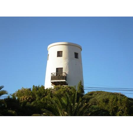 LAMINATED POSTER Architecture Uga Lighthouse Lanzarote Poster Print 24 x 36
