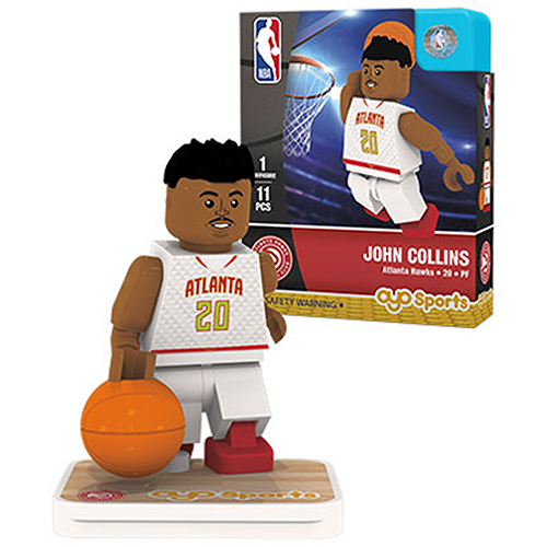 John Collins Atlanta Hawks OYO Sports Player Minifigure - No Size