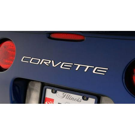 C5 Corvette 1997-2004 Corvette Rear Letters - Stainless Steel