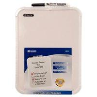 New 325149  White Board W / Marker 8.5 X 11 6010 Bazic (12-Pack) White Cheap Wholesale Discount Bulk Seasonal White Frames.