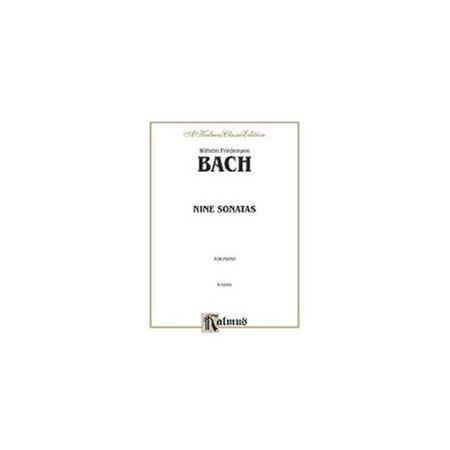 W.F. Bach - Nine Sonatas for Intermediate to Advanced (Bach Sonatas)