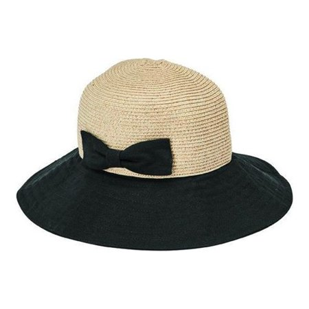 d70d6c11c2ad50 San Diego Hat Company - Women's San Diego Hat Company Ultrabraid Packable  Sun Hat with Bow UBL6816 - Walmart.com