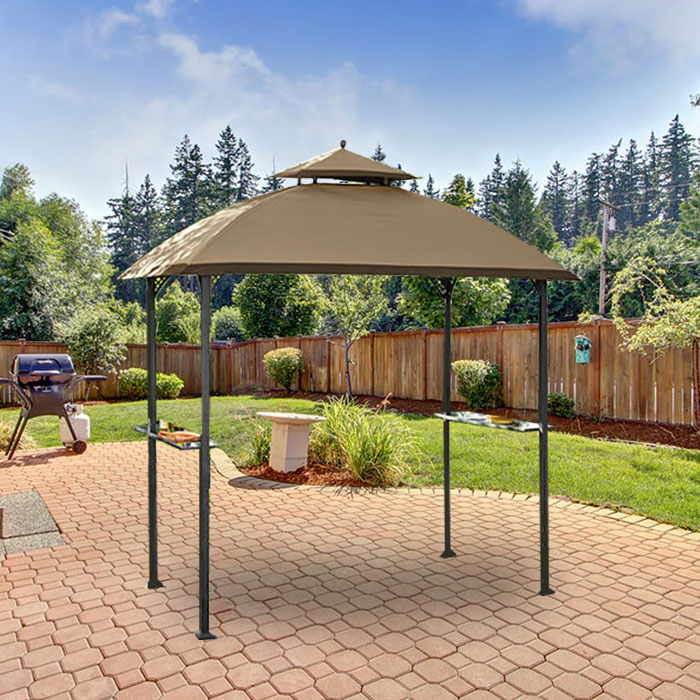 Garden Winds Replacement Canopy Top for the Windsor Grill Gazebo - Riplock 350 & Garden Winds Replacement Canopy Top for the Windsor Grill Gazebo ...
