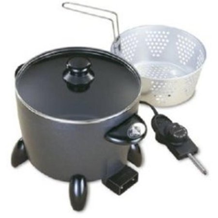 Presto 06003 6 Quart 1300 Watt Professional Options Multi-Cooker/Steamer - image 2 de 2