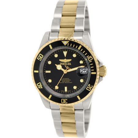 Men's 8927OB Pro Diver Analog Display Japanese Automatic Two Tone Watch