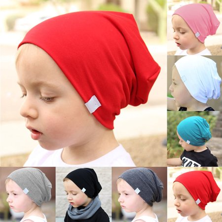 57782f60c17e6 Obstce Baby Infant Toddler Kids Boy Girl Warm Cotton Knit Hat Crochet Slouch  Beanie Cap