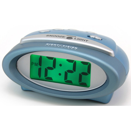 Equity by La Crosse Digital Alarm Clock with Night Vision Technology by La Crosse Technology