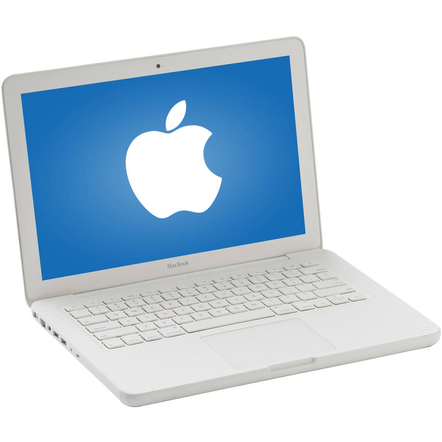 "Refurbished Apple Glossy White 13.3"" MC207LL/A MacBook with Intel Core 2 Duo Processor, 4GB Memory, 250GB Hard Drive and Mac OS X 10.11 El Capitan"