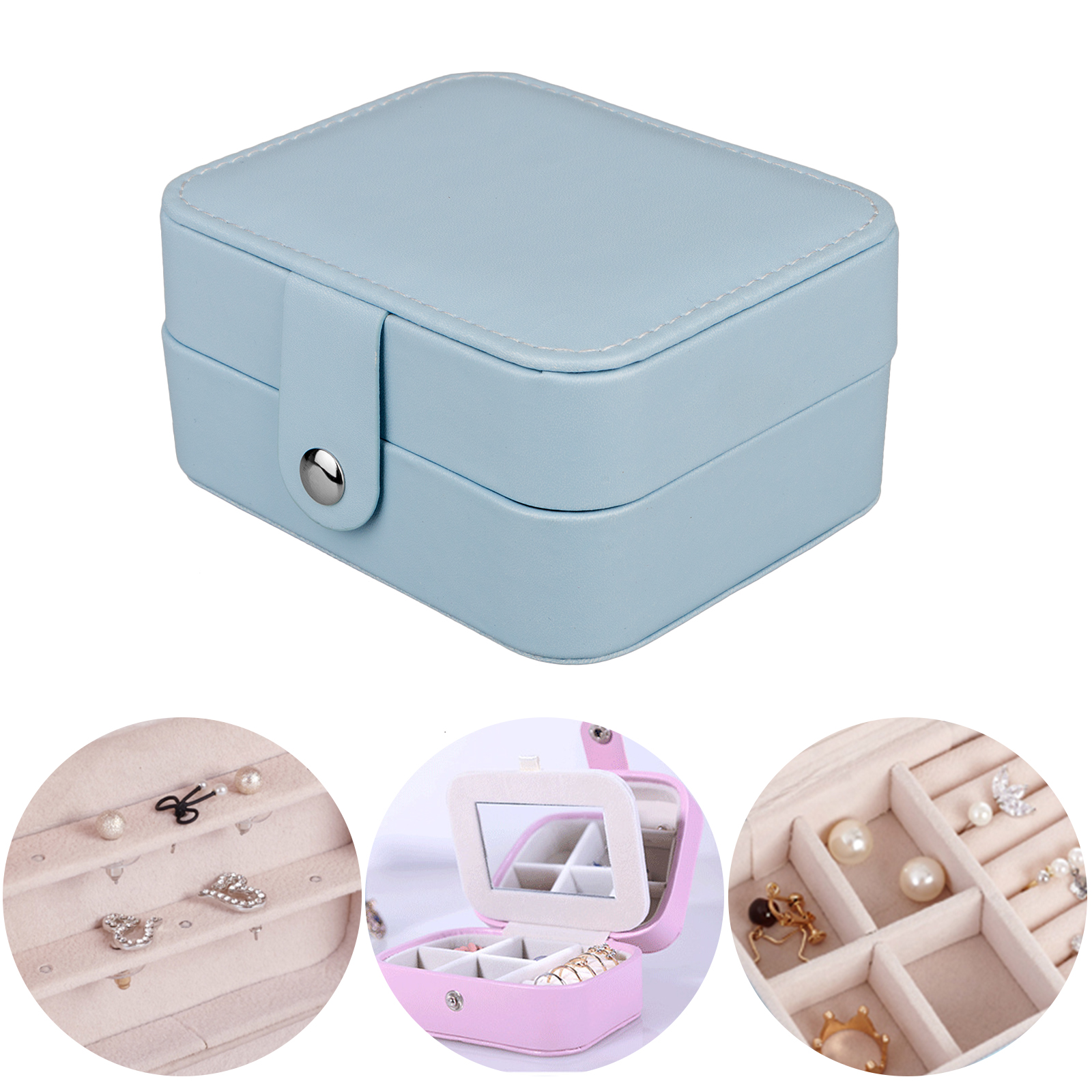Travel Makeup Train Case Makeup Cosmetic Case Organizer Portable Artist Storage Bag with Adjustable Dividers for Cosmetics Makeup Brushes Toiletry Jewelry Digital accessories