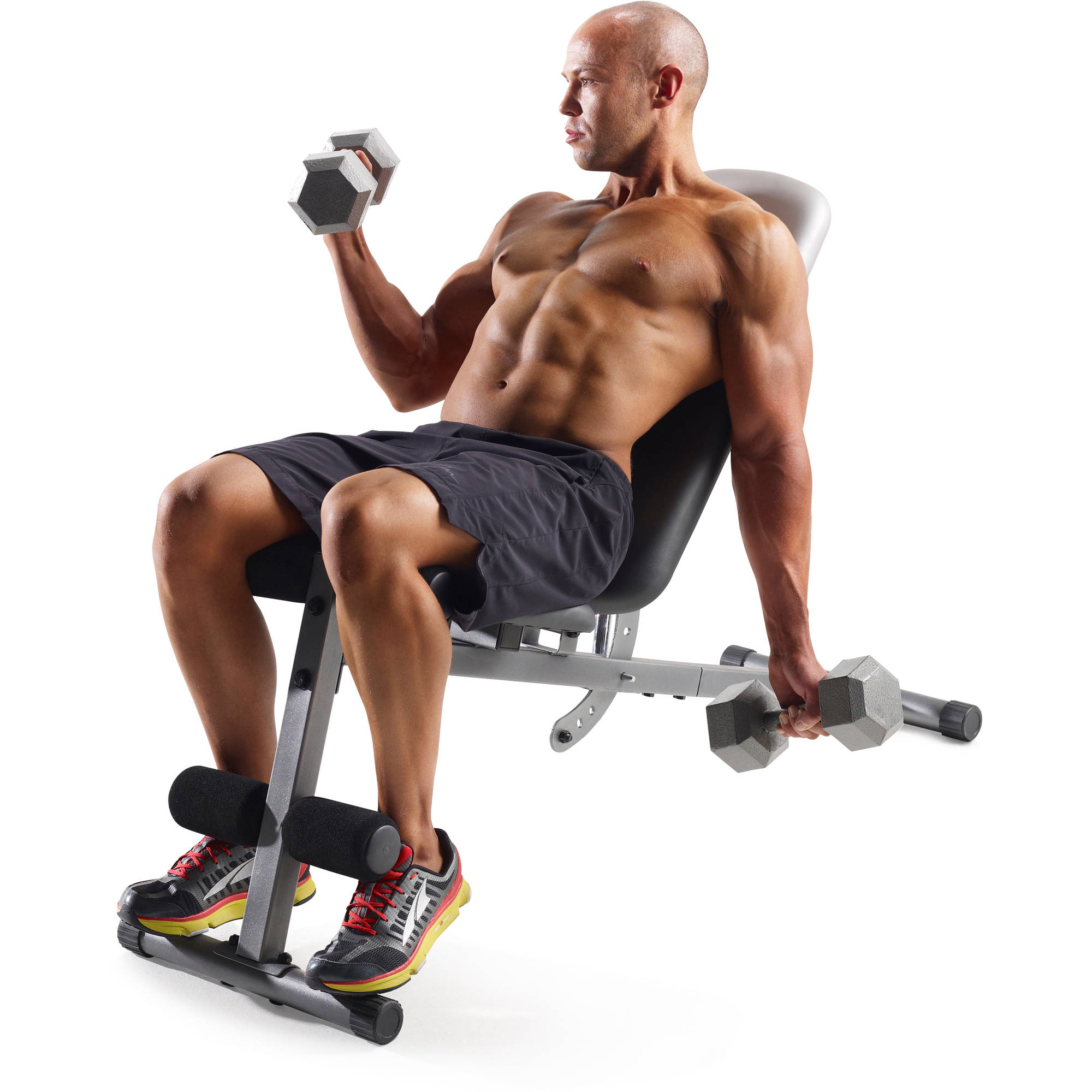 Gold's Gym XR 5.9 Adjustable Slant Workout Weight Bench