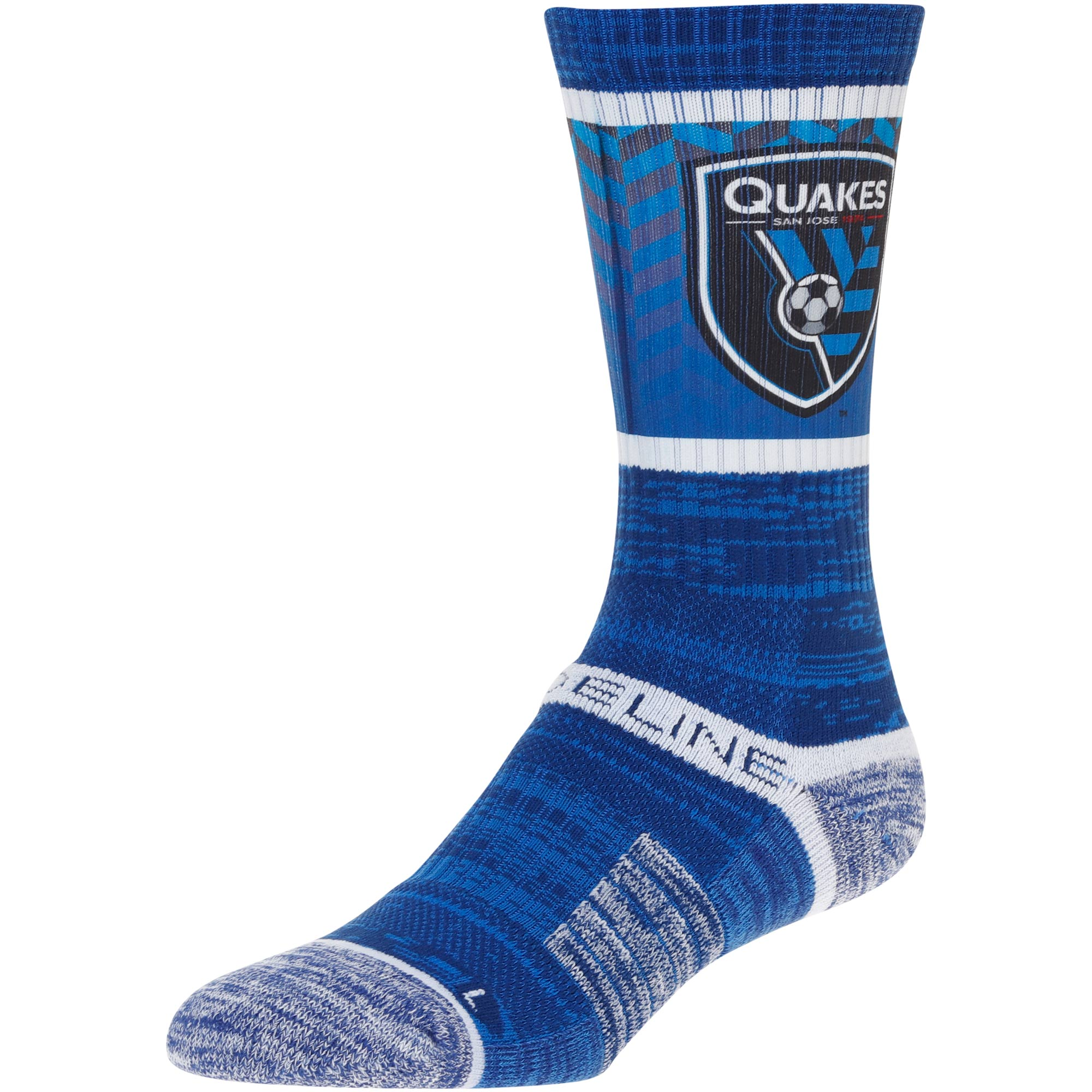 San Jose Earthquakes Team Crew Socks - Royal - OSFA