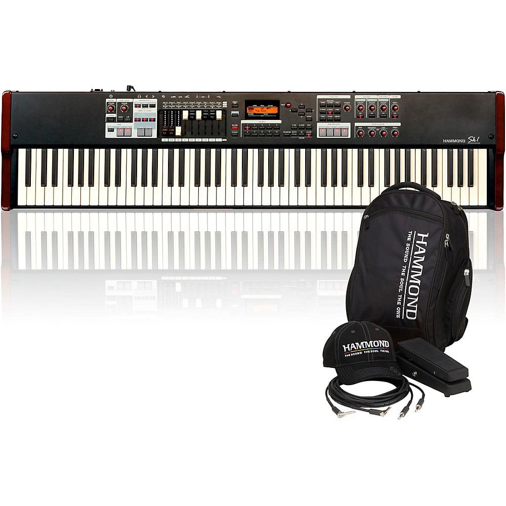 Hammond Sk1-88 Digital Keyboard with Keyboard Accessory Pack by Hammond