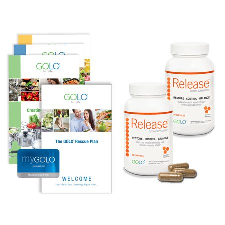 2 Bottles of Release w/ Free GOLO for Life Plan (W)