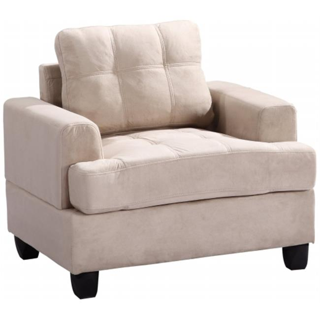 Nova Furniture Group NF511A-C Living Room Chair, Beige