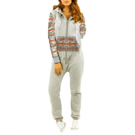 8adbb4782ca6 SkylineWears - SkylineWears Womens Fleece Onesie One Piece Pajama ...