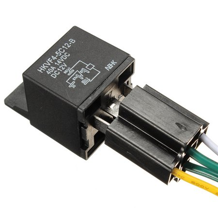 Pin Amp Volt Relay Wiring on