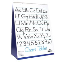 """Flipside Spiral-Bound Flip Chart Stand with 1.5"""" Ruled Tablet"""