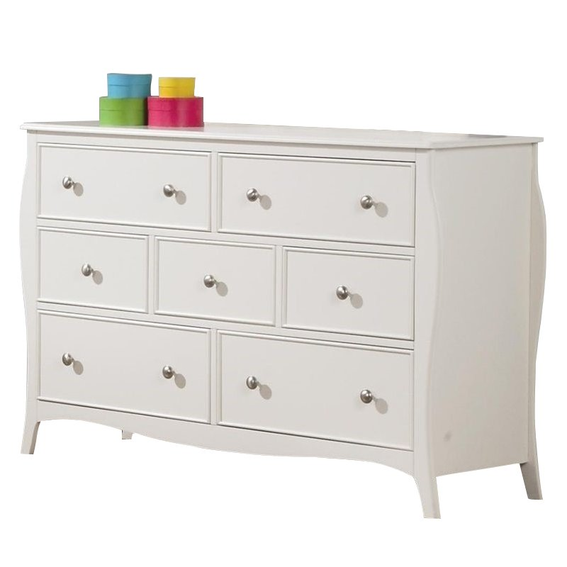 Coaster Company Dominique Youth Collection Dresser, White