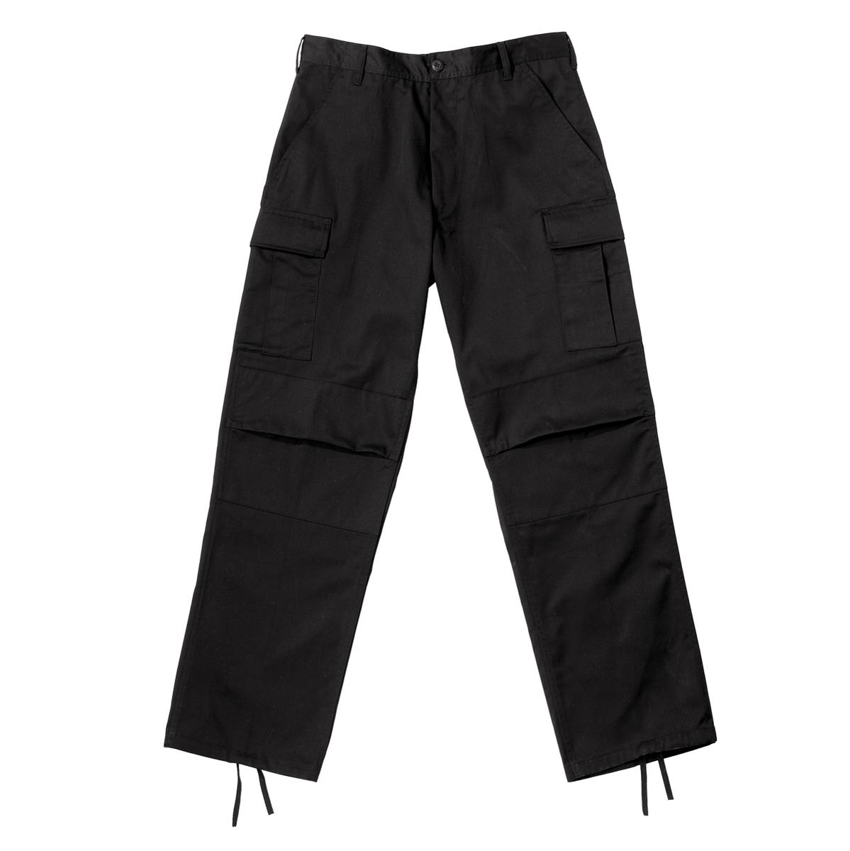 Black BDU Pants, Military Fatigues - Walmart.com