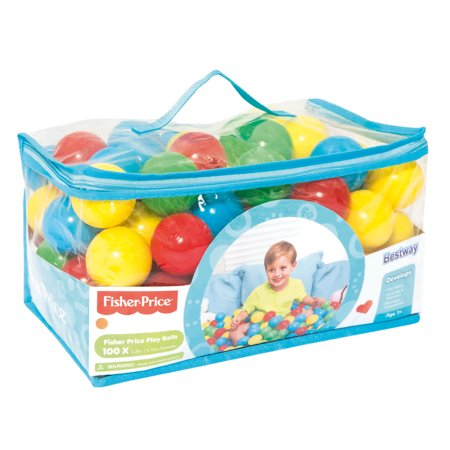 Bestway   Fisher Price 2 2 Inches 100 Play Balls