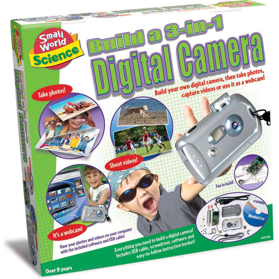 Build a 3-in-1 Digital Camera
