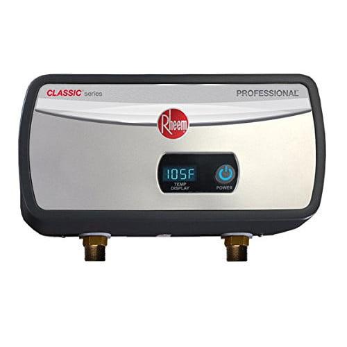 RHEEM Electric Tankless Water Heater,3500W RTEX-04