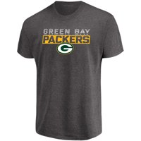 d0c954fcd80da Product Image Men's Majestic Heathered Charcoal Green Bay Packers Come Into  Play T-Shirt