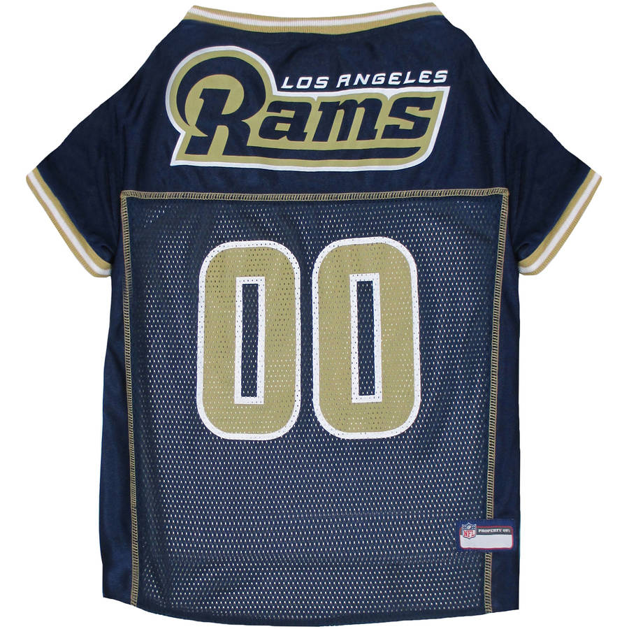 Pets First NFL Los Angeles Rams Pet Jersey