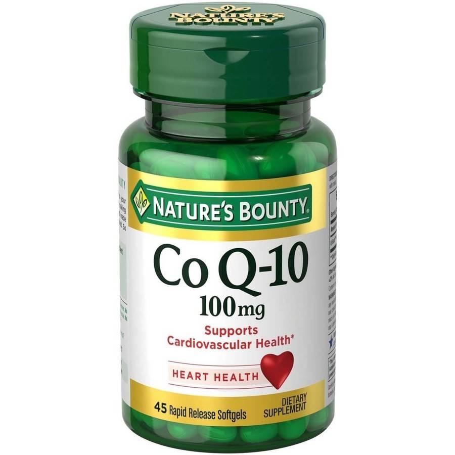 Nature's Bounty Q-Sorb Co Q-10 Dietary Supplement Softgels, 100mg, 30 Ct
