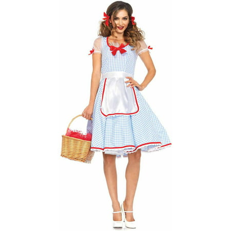 Leg Avenue Women's Dorothy Oz Kansas Sweetie Halloween Costume