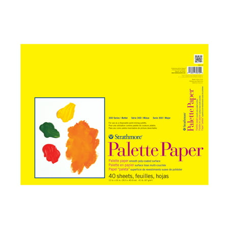 Strathmore Paper Palette Pad, 12in x 16in - Palette Paper