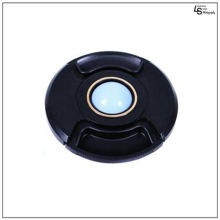 Custom Center Caps - 62mm Center Pinch White Balance Calibration Lens Cap Custom Filter Front Protection Cover for SLR DSLR Cameras by Loadstone Studio WMLS0559