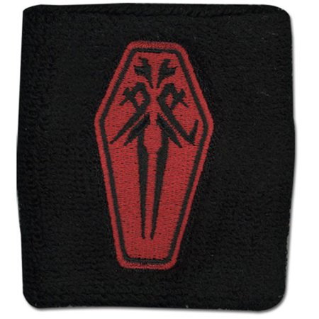 Guilty Crown Men's  Funeral Parlor Anime Wristband ()